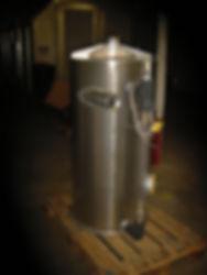 Stainless steel separator, knockout tank, moistur separator