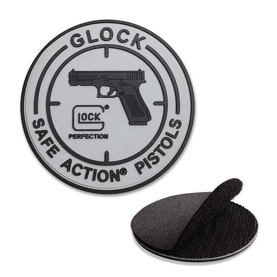 GLOCK Safe Action Pistol Rubber Badge Velcro