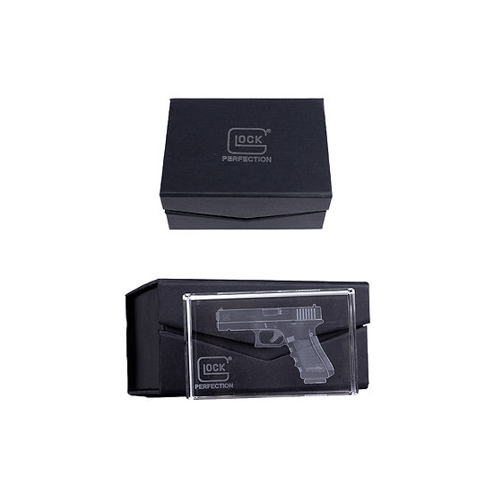 GLOCK Crystal Paper Weight