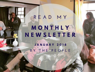 By the People: Your January 2018 Newsletter