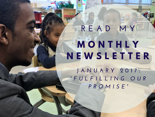 """""""Fulfilling our Promise"""": Your January 2017 Newsletter"""
