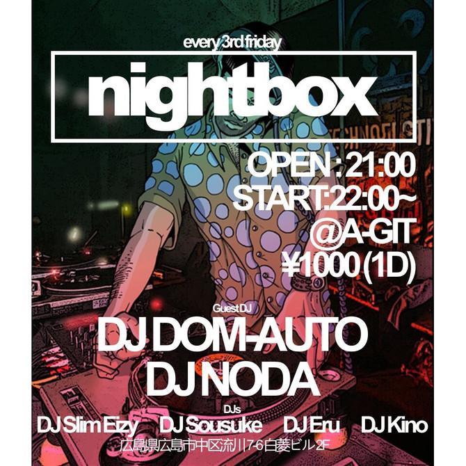 11/18 nightbox @A-GIT