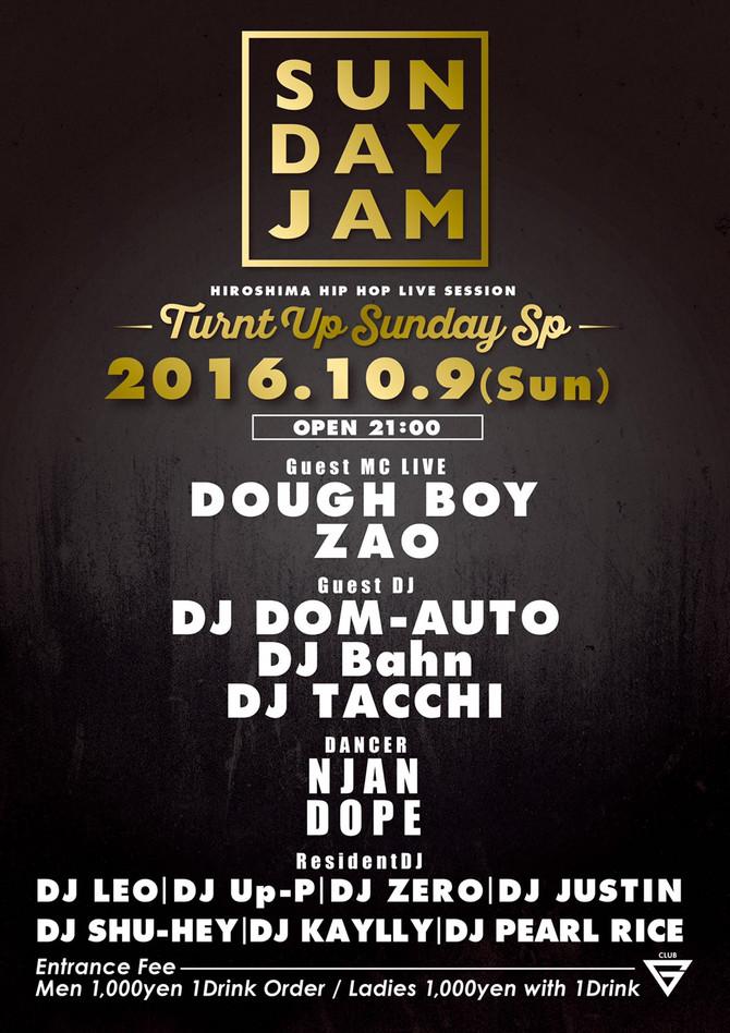 SUNDAY JAM @club G hiroshima