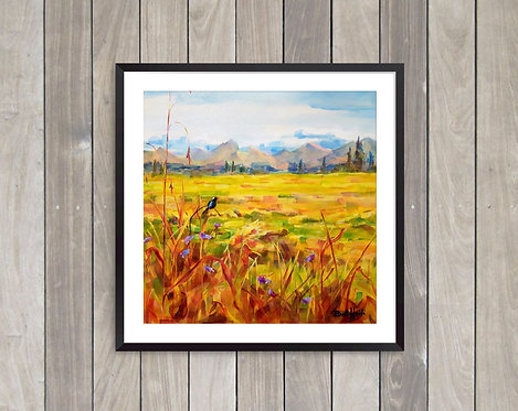 Print - Rocky Mountain Harvest