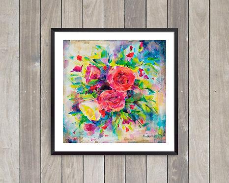 Print - Midnight Blossoms
