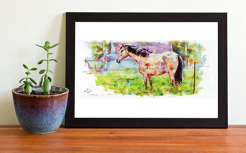 Print - Hometown Horse