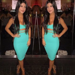 """""""Show Stopper Doll""""(turquoise)"""