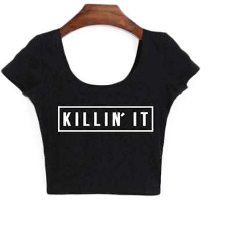 """Killin It Doll""( black)"