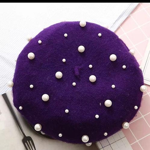 """""""Take me to Paris Doll""""(purple)"""