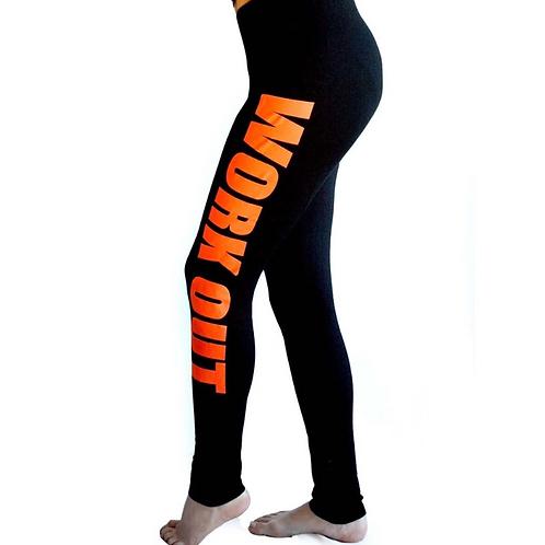 """Work Out Doll""(orange)"