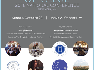Your Art Concierge Attending the Appraisers Association of America National Conference 2018