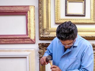 Letting the Frame Speak for the Artist
