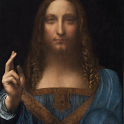 "The Curtain Goes up, and the Lights Come Down when ""Salvator Mundi"" takes the Stage on Broadway..."