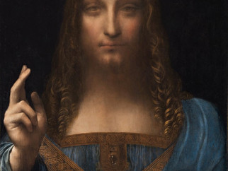 """The Curtain Goes up, and the Lights Come Down when """"Salvator Mundi"""" takes the Stage on Broadway..."""