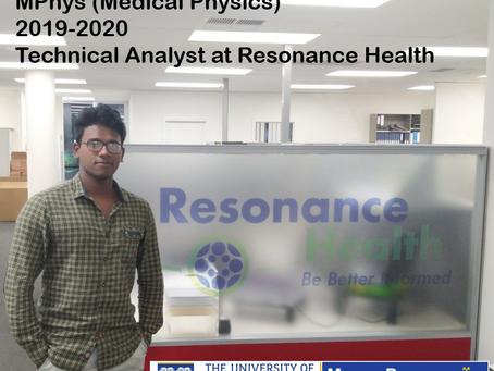 Prince Raj a UWA Medical Physics Graduate; From Stars to Cells