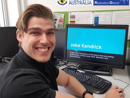 Huge Congratulations to Jake Kendrick!