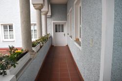 Eingang Doppelzimmer