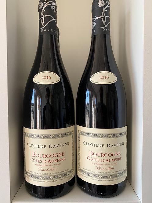 Bourgogne Côtes d'Auxerre 2017 - Clotilde Davenne