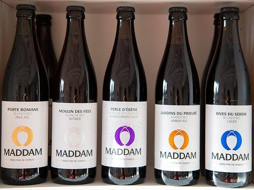 Bières artisanales bio - Maddam