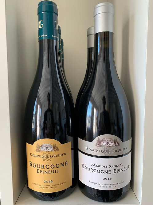Bourgogne Epineuil 2015 / 2018 - Dominique Gruhier