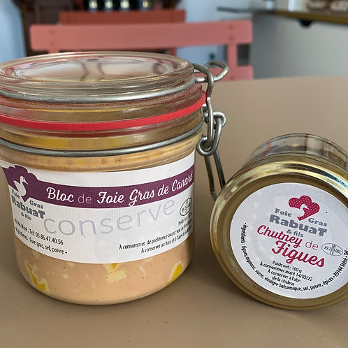 Foie gras de canard - Rabuat