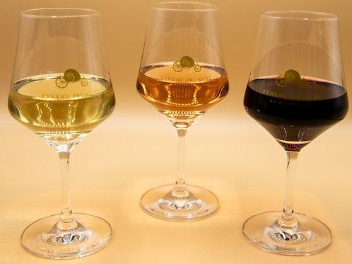 6 verres à vin Arômes
