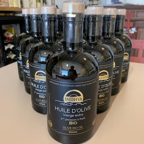 Huile d'olive bio - Indhya