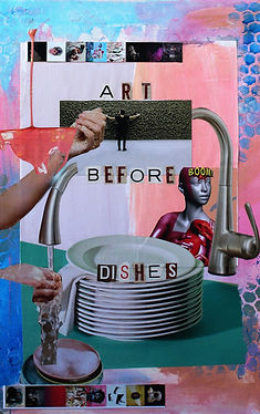 Art Before Dishes
