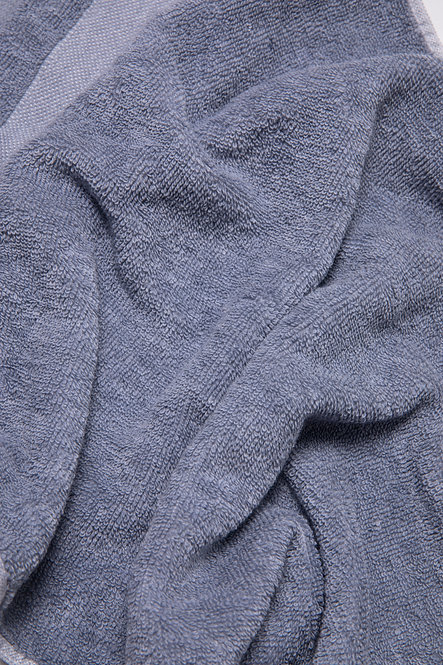 Premium Towel Collection - Steel Blue