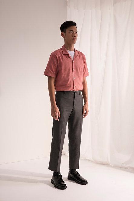 Welt-Pocket Shirt - Desert Pink