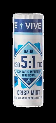 Crisp Mint - 5mg CBD:1mg THC