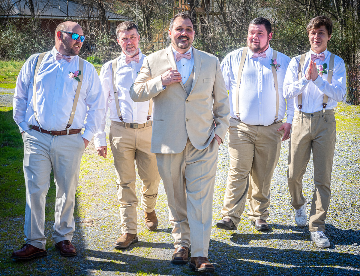 Groom & Friends Starbound Photography