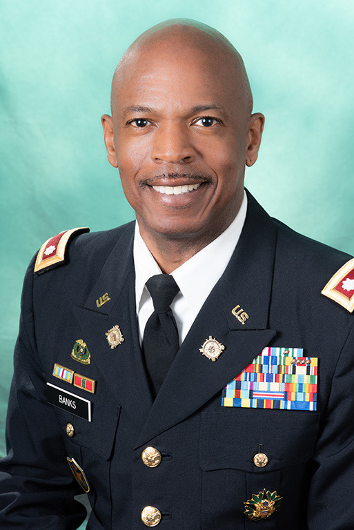 Lt. Colonel Nathan M. Banks Headshot Stabound Photography
