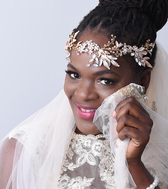 Bride in Studio Starbound Photography