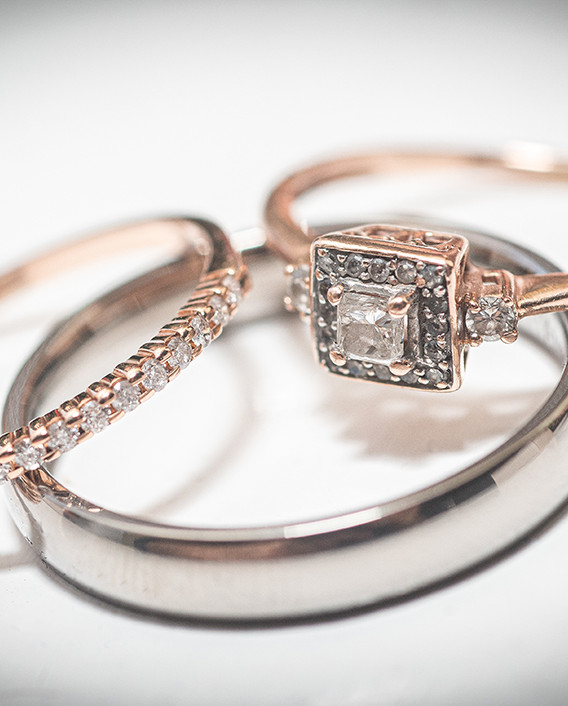 Wedding Rings Starbound Photography