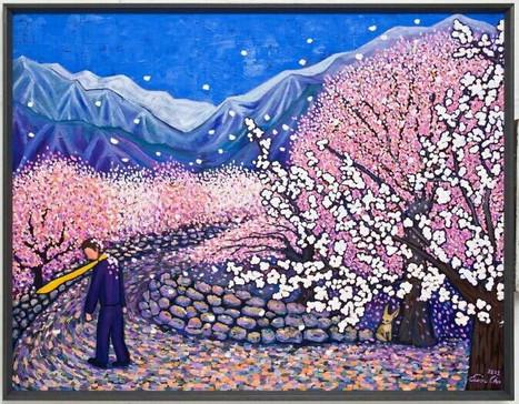Big Prince gone to Hunza Village(훈자마을에 간 큰왕자),112x146cm, oil on canvas,2012