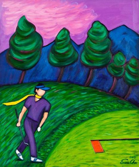그린위의 큰왕자, 60x72cm, oil on canvas,2012