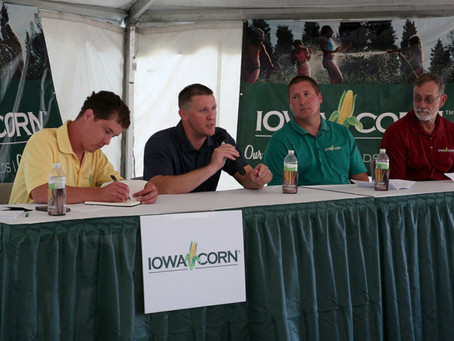 INREC Participates in Iowa Corn Panel During Farm Progress Show