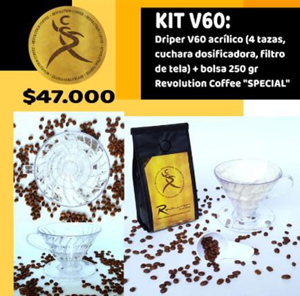 Kit Dripper V60 $47.000