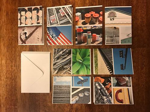 """3""""x5"""" Folded Designer Note Cards"""