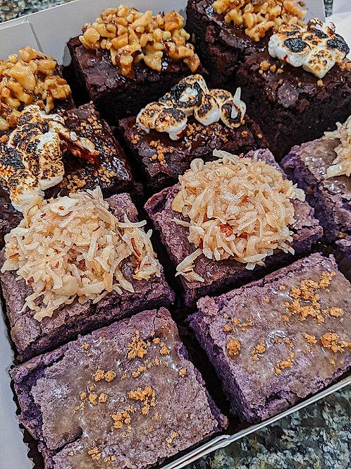 Mixed Fudge & Ube Brownie Package