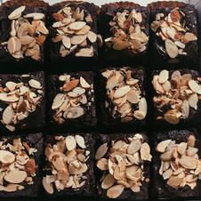 Fudge Almond Brownies