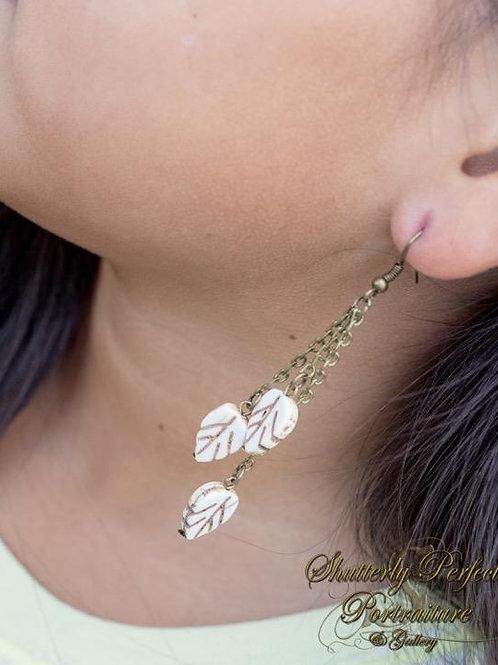 Tribal Leaves Earrings