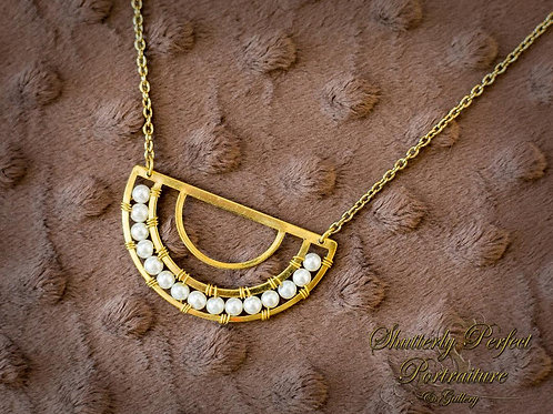 Aasha Pearl Necklace