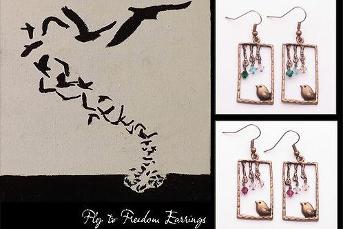 Eden Ministry Fly Home Earrings