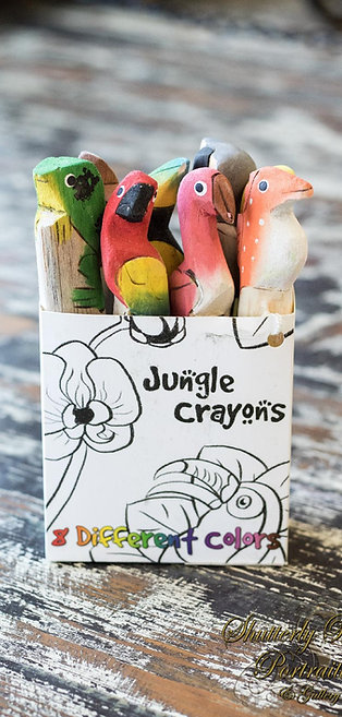 Jungle Crayons