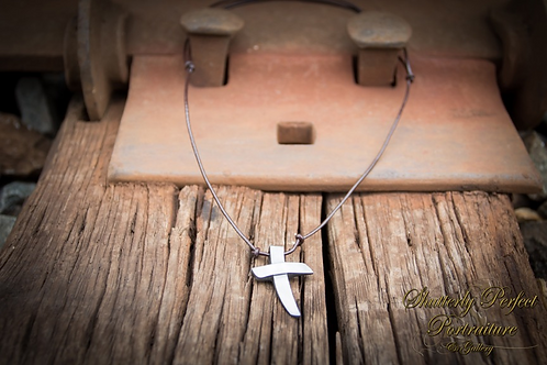 Rugged Cross Necklace-Adjustable