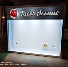 Enseigne Tacos Avenue