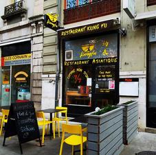 Enseigne Restaurant Kung Fu