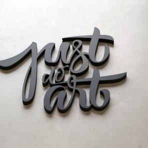 Enseigne Just do Art